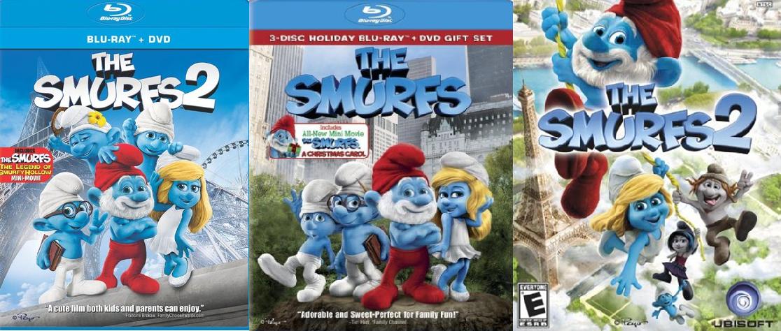 smurfs 2 prize pack