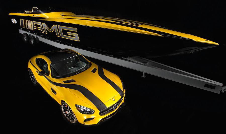 1台1億4200万円以上!メルセデス-AMG GTをモチーフにした高級ボートが登場
