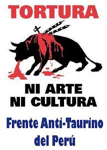 ÚNETE AL FRENTE ANTI-TAURINO