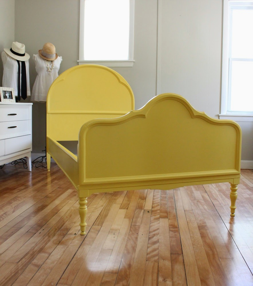 Twin Blue Bed Frame