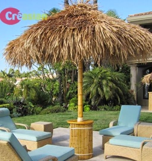 Charming #u003d%backyard A Tropical Look 10ft Palapa Umberella An Exotic Island W/thatch  Materialu0026palapa Umbrella Create Restaurants Commercial/pool,patio,backyard.
