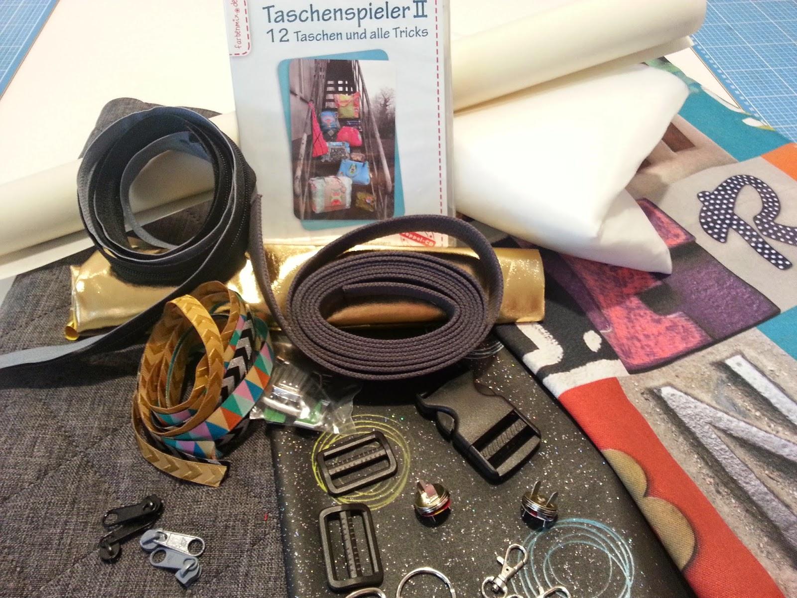Taschenspieler Sofortstart Nähset farbenmix emmeline