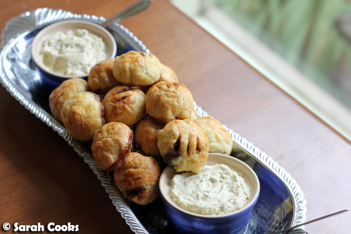Sarah Cooks: Heston Blumenthal's Eccles Cakes with Potted Stilton