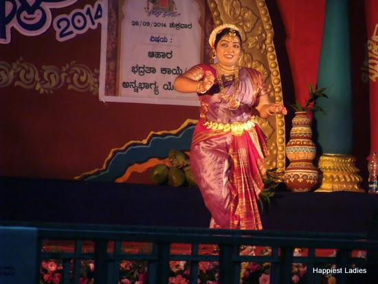 bharatnatyam performance ahara mela mysore 1
