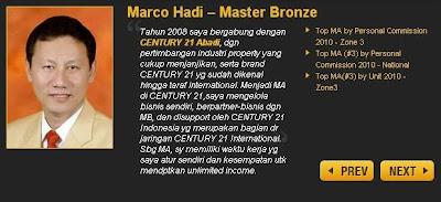 Century 21 Broker Properti Jual Beli Sewa Rumah Indonesia_Testimoni_Marco Hadi