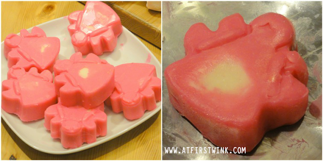 LUSH snow fairy sparkle massage bar