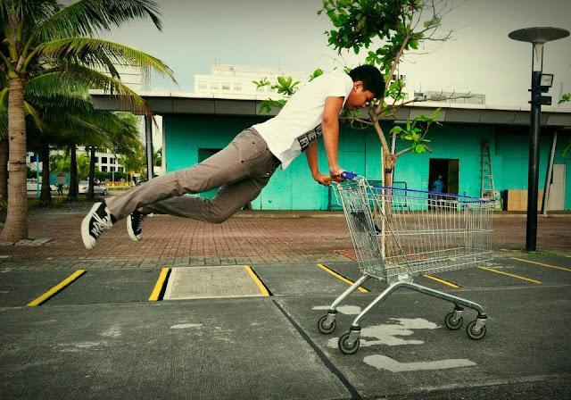 Levitation Shot