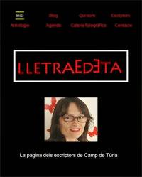 Pàgina web de LletrAEdeta
