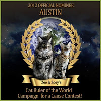 Cat Ruler of the World - 2012 Official Nominee