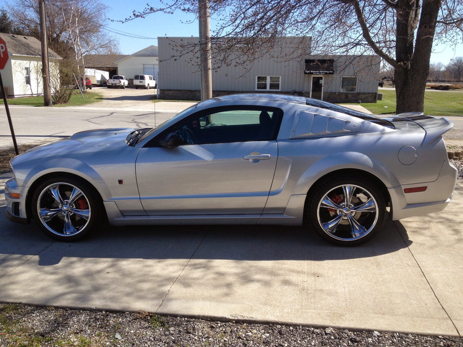 2006 ford mustang gt coupe roush stage 1 for sale. Black Bedroom Furniture Sets. Home Design Ideas