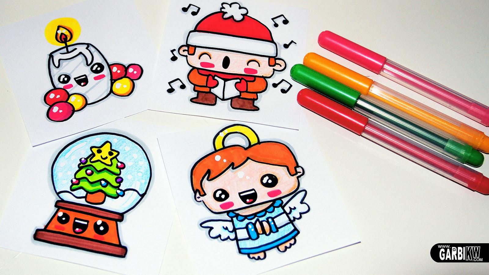 Tutorial c mo dibujar motivos navide os bonitos dibujos - Motivos navidenos dibujos ...