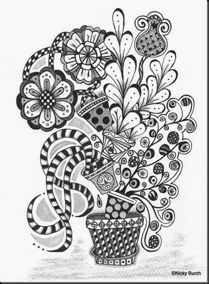 Love Zentangle