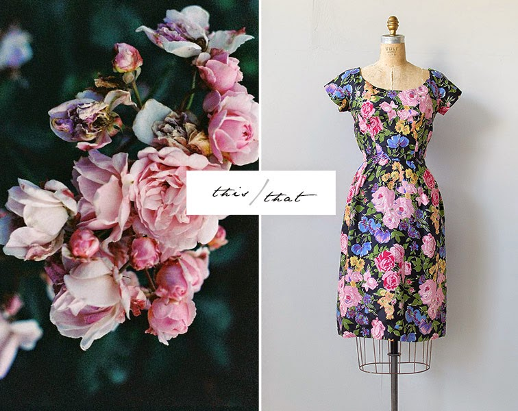 Among The Flowers Flower Inspiration Vintage Fl Dresses