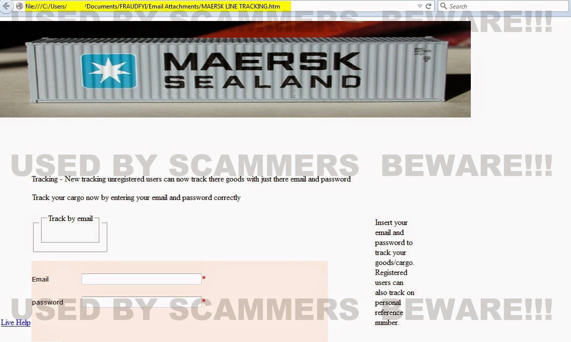 new maersk tracking