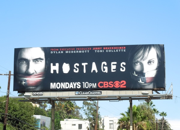 Hostages season 1 billboard