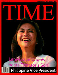 EQ Post Says...The BEST Woman Won The Philippine VP Race in 2016!