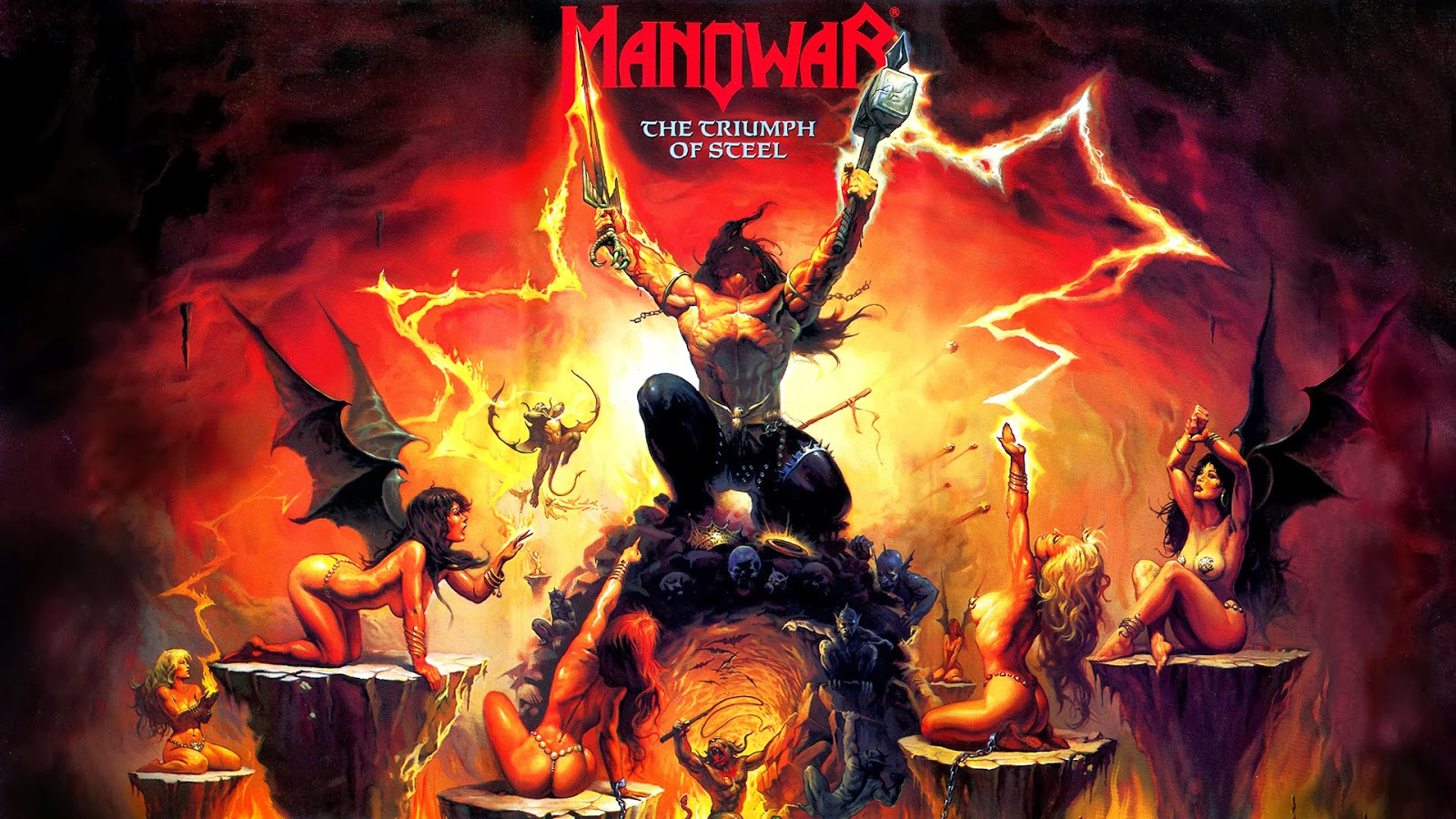 Music In Review Manowar Achilles Agony And Ecstasy