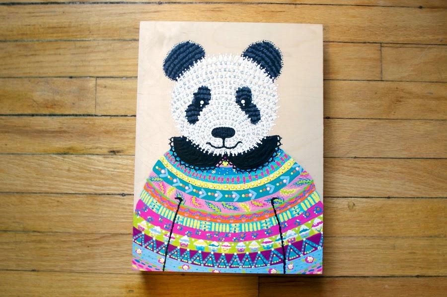 Acrylic Painting Panda
