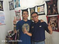 Kunjungan ke Workshop Sablon Kaos Ppcp IndoPrint Solo