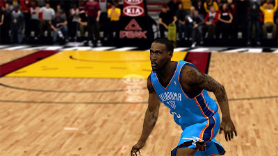NBA 2K13 Kendrick Perkins Oklahoma City Thunder