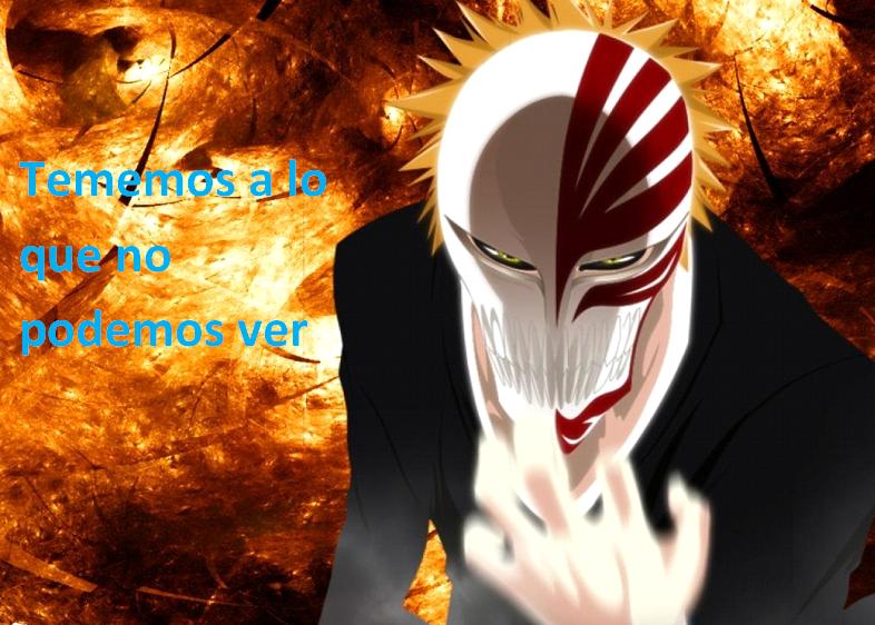 Frases con fotos del anime. Ichigo