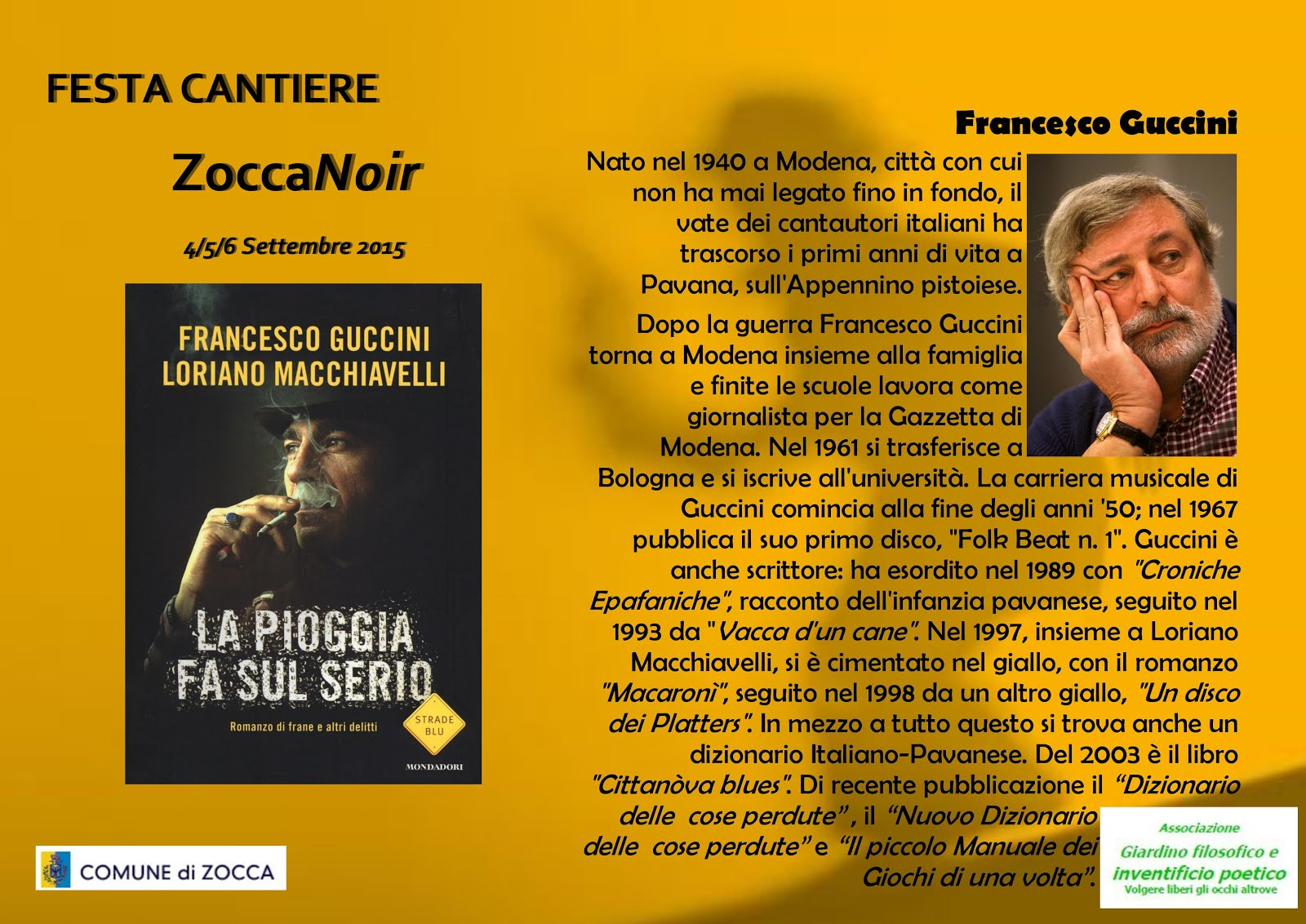 Biografia Francesco Guccini