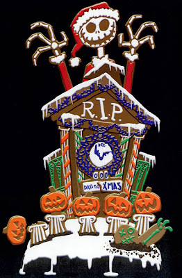 Disneyland Resort, Haunted Mansion, Tombstone Cake, The Nightmare Before Christmas