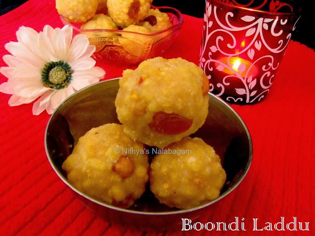 Boondi Laddu | Easy Deepavali sweet