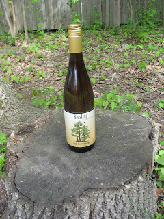 2010 Dry Riesling from Eagle Crest Vineyards in Conesus, NY
