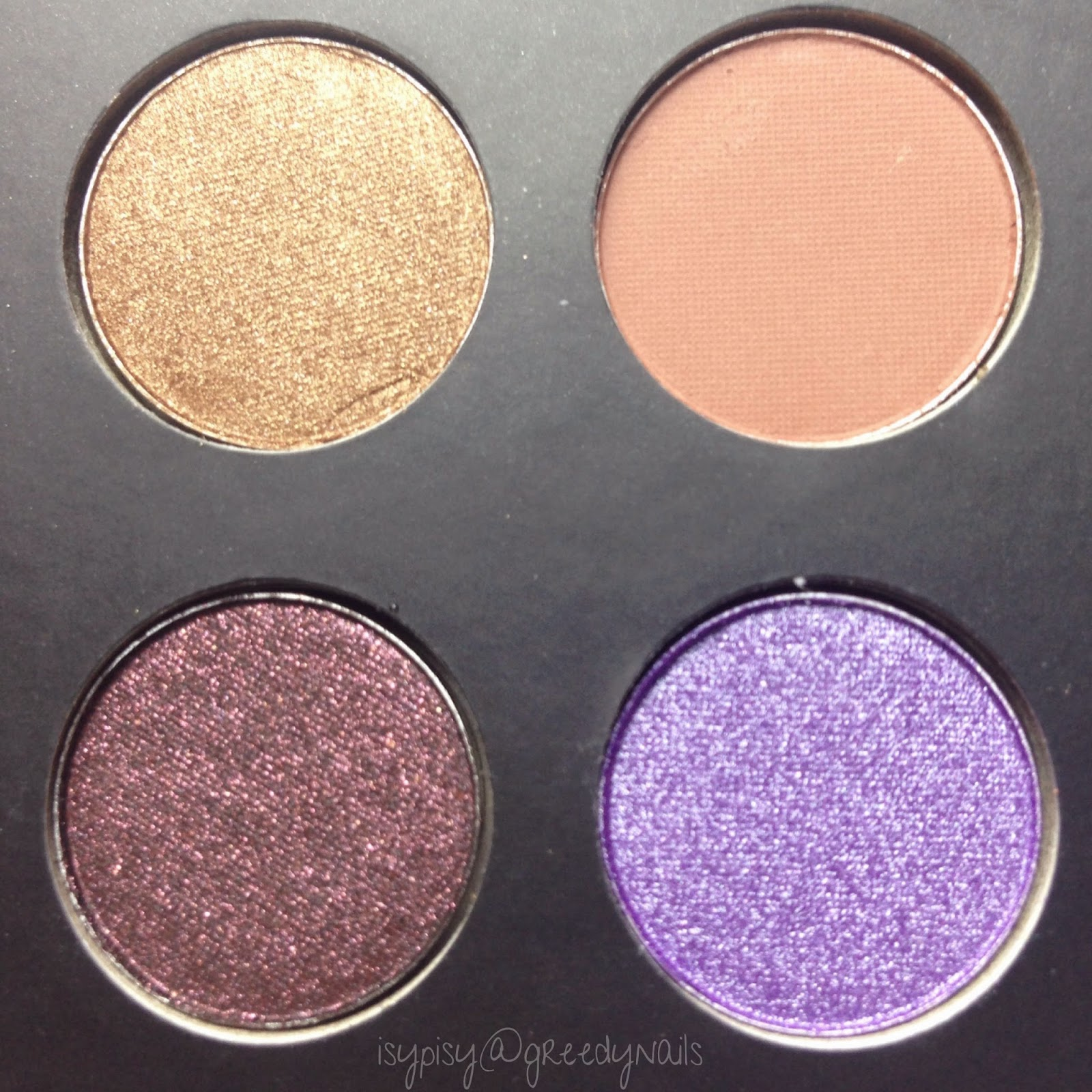 Greedy nails: it`s judy time palette (bh cosmetics)   swatches   ...