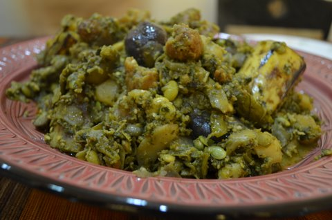 You may want to see this photo of masala recipe sanjeev