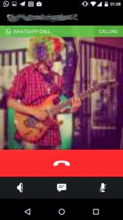 Screenshot update terbaru WhatsApp dengan fitur panggilan dan UI baru