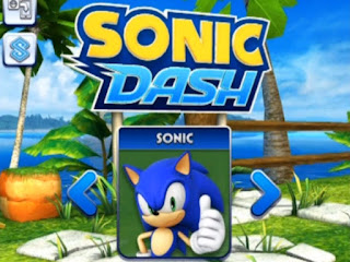 تحميل لعبة سونيك داش Sonic Dash للاندرويد مجانا