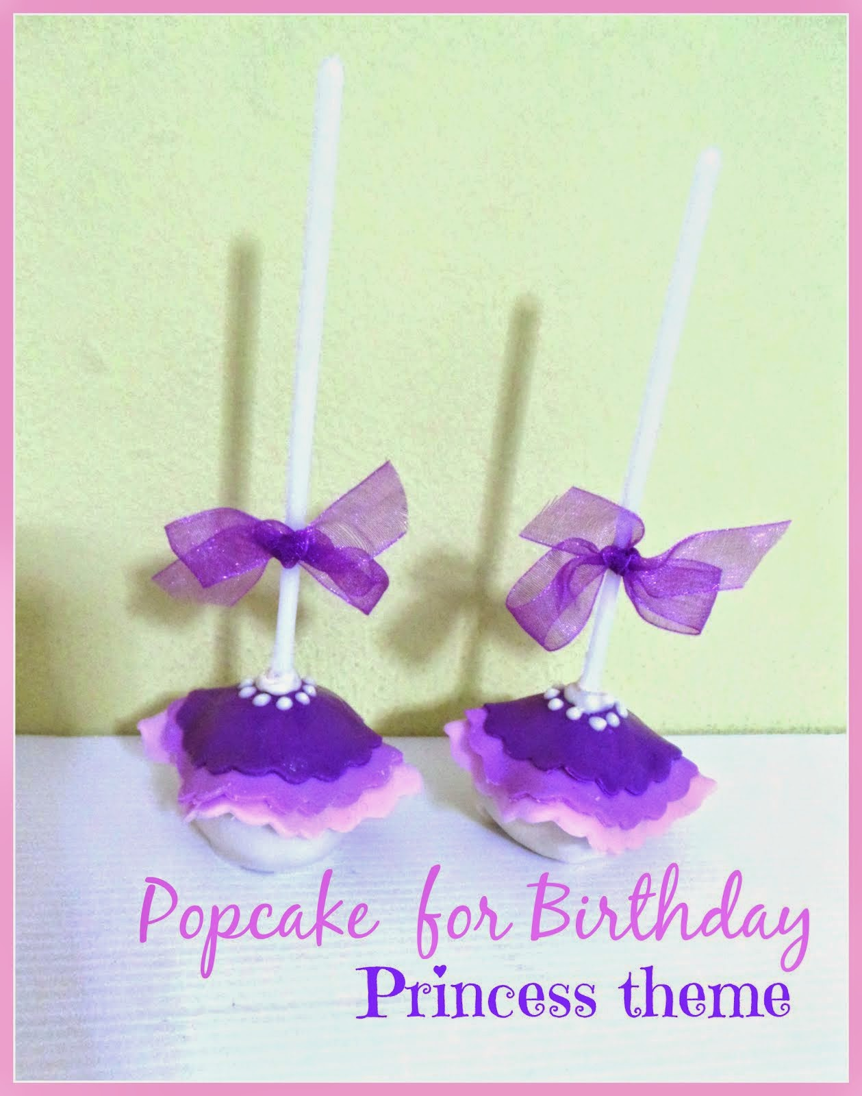 Popcake Birthday Princess