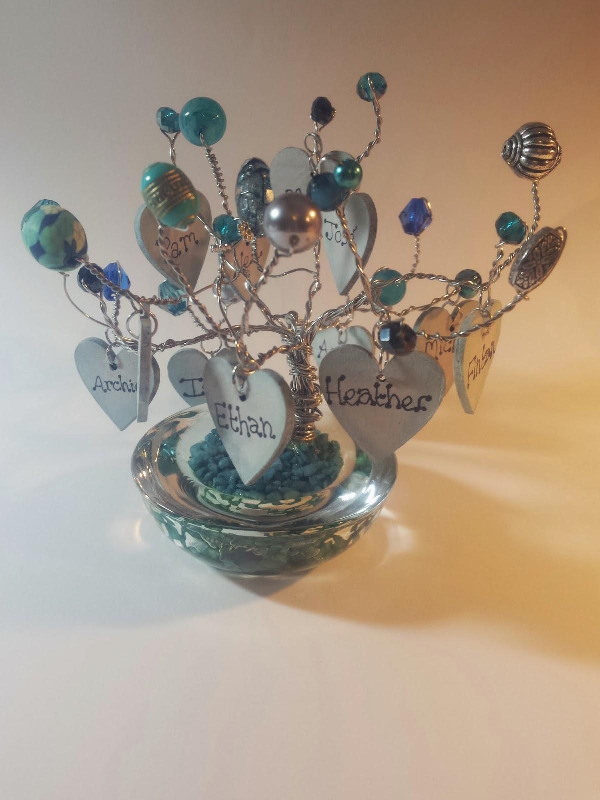 Ella in her Attic: Wire Jewellery Family Tree