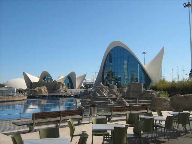 Cidades das Artes e Ciências em Valencia