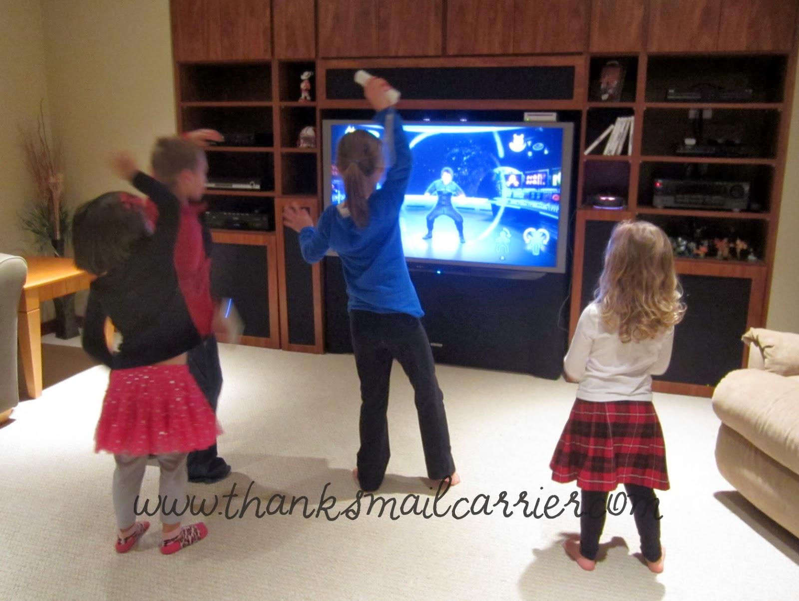 kids dance exercise