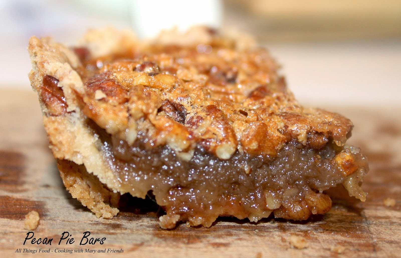 Cooking With Mary and Friends: Pecan Pie Bars