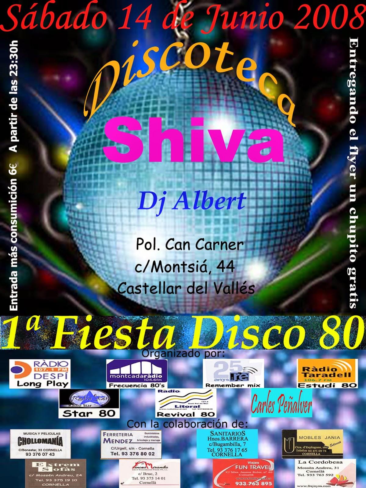 Flyer Shiva 14/06/2008