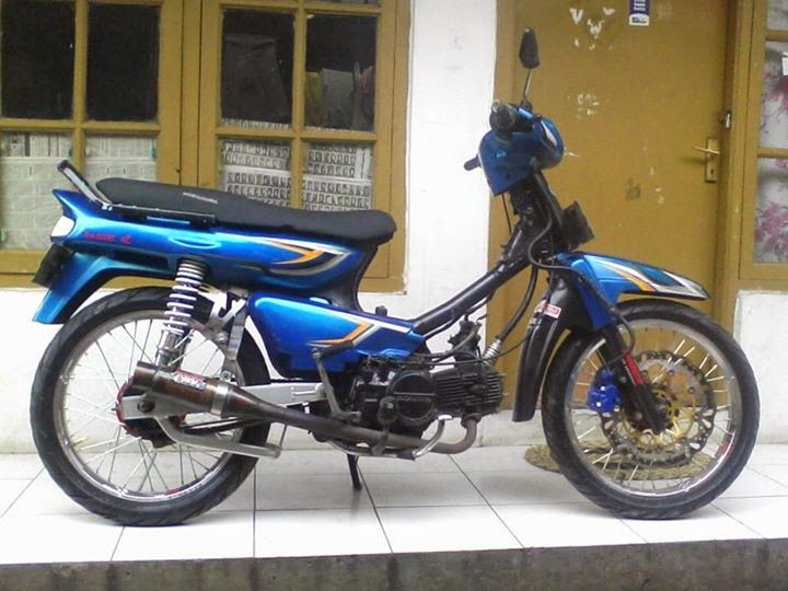 contoh modifikasi motor honda grand