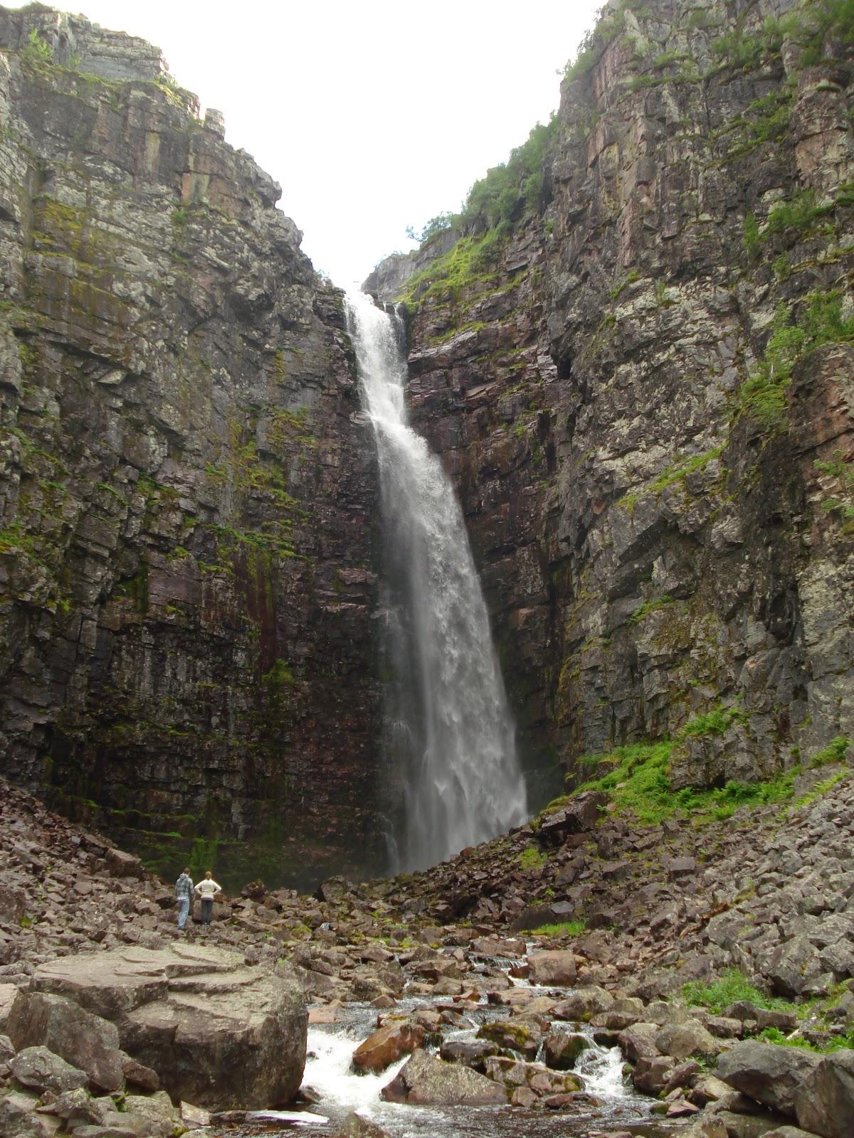 har landets största vattenfall