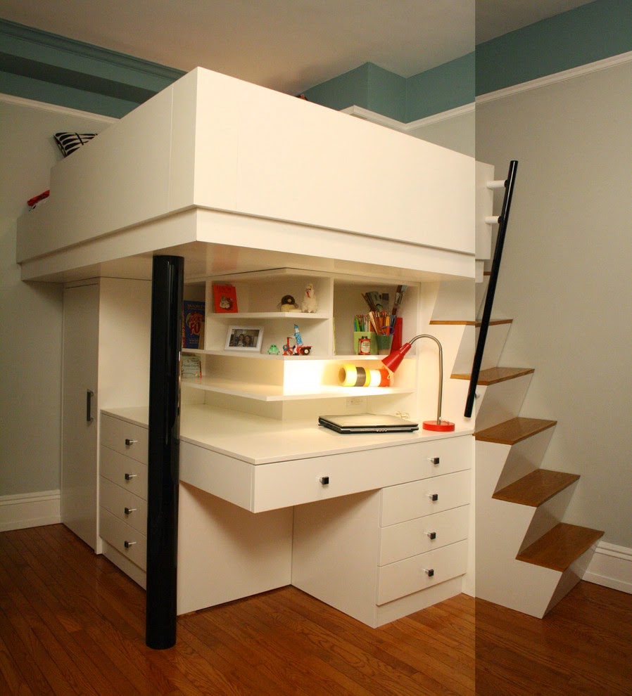 innovative kids study rooms childrens bunk bed desk full