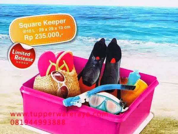 Tupperware Promo Mei 2014 Square Keeper