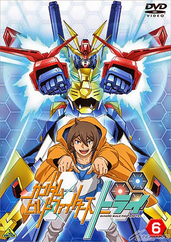 Gundam guy gundam build fighters try vol 6 dvd new for Domon gundam build fighters try