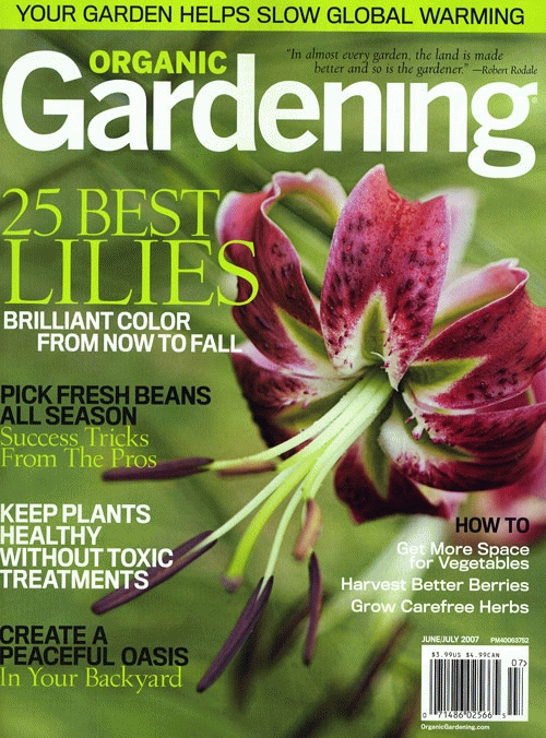 On how to garden the target audience of this magazine is gardeners