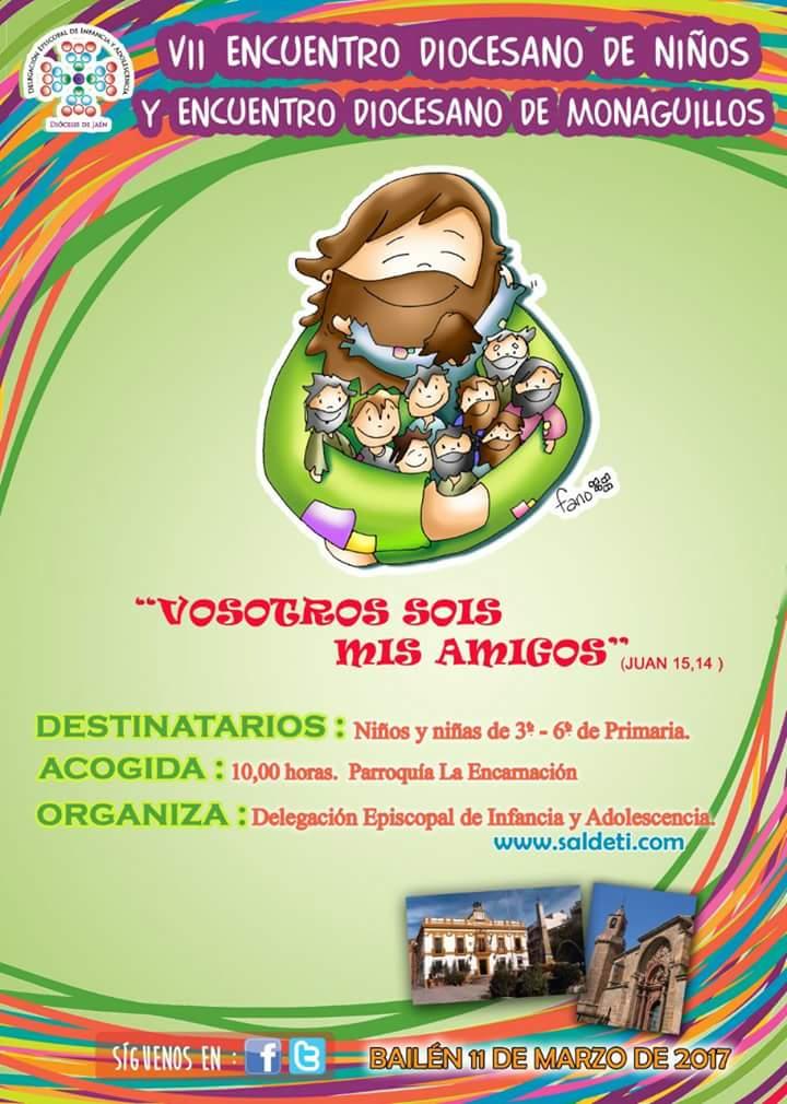 ENCUENTRO DE NIÑOS Y MONAGUILLOS