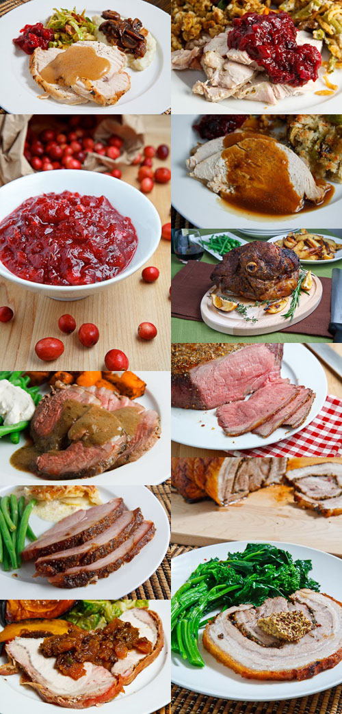 Thanksgiving Mains Collage