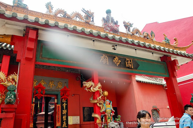 kuala lumpur guan di temple