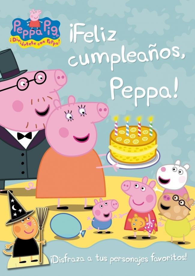 Mundo peppa pig libro feliz cumplea os peppa - Feliz cumpleanos en catalan ...