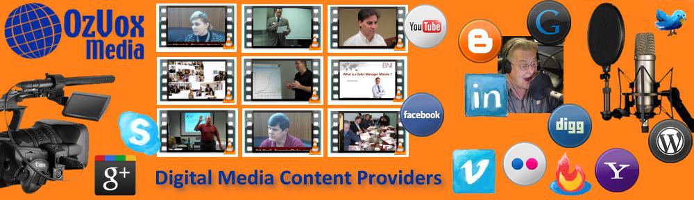 Ozvox Media - Digital Media Content Providers